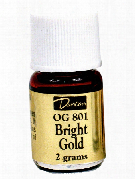 Real Gold Overglazes Bright Gold
