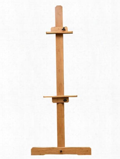 San Jacinto Solid Bamboo Studio Easel Traditional Single-mast Style