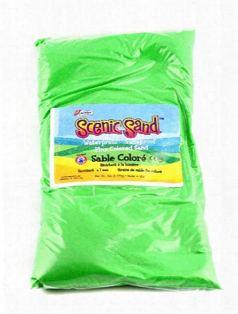 Scenic Sand Light Brown 5 Lb. Bag