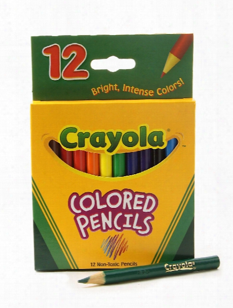 Short Colored Pencils Set Of 12