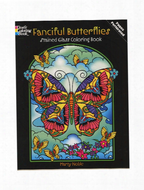Stained Glass Coloring Books Allover Patterns