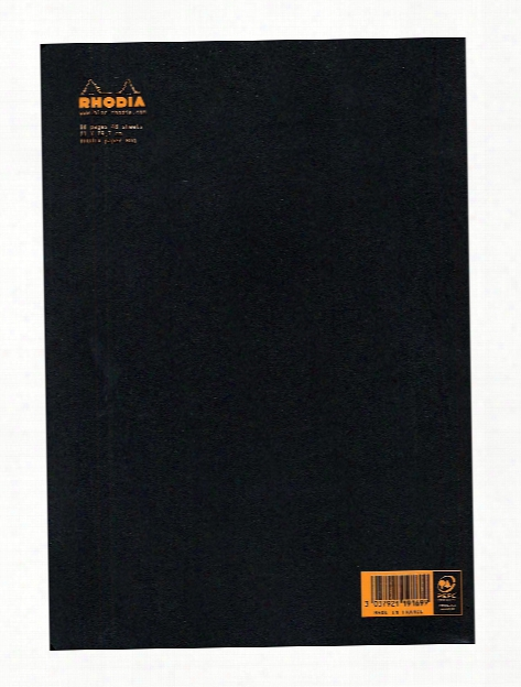 Staplebound Notebooks Graph, Black Cover 3 In. X 4 3 4 In. 24 Sheets
