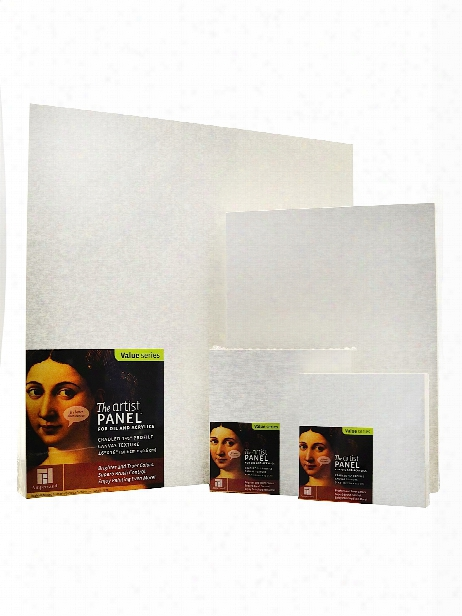 The Artist Panel Canvas Texture Cradled Profile 4 In. X 4 In. 3 4 In.