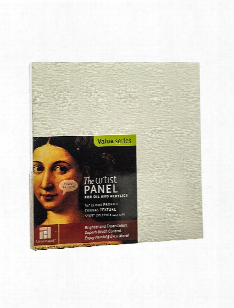 The Artist Panel Canvas Texture Flat Profile 4 In. X 4 In. 3 88 In.