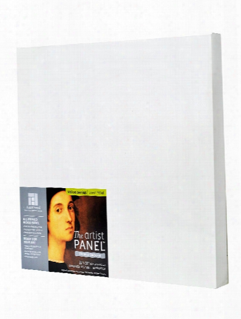 The Artist Panel Primed Smooth Cradled Profile 7 8 In. 4 In. X 4 In.