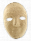 Creativity Street Paper Mache Masks full mask 8 in. x 6 in. each