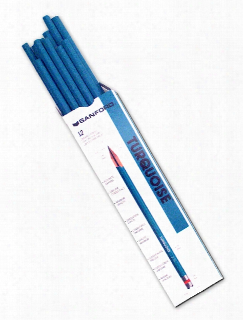 Turquoise Drawing Pencils B