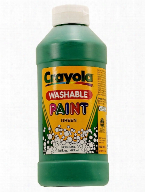 Washable Paint Orange