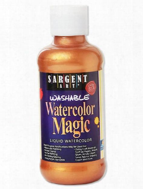 Watercolor Magic 8oz Pirate Gold