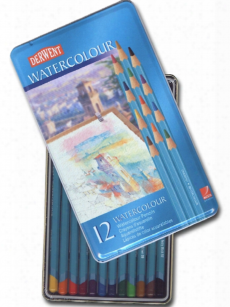 Watercolor Pencil Sets In Tins Set Of 72