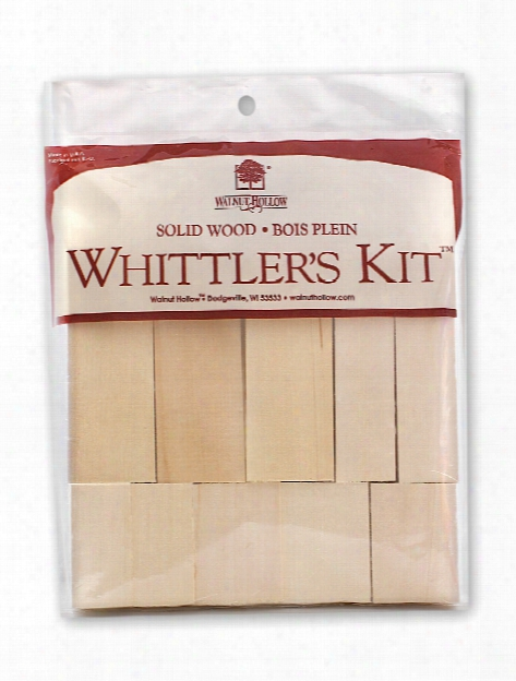 Whittler's Kit Basswood Blocks Pack Of 10