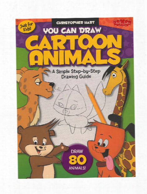 You Can Draw Cartoon Animals Each