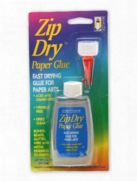 Zip Dry Paper Glue 2 Oz.