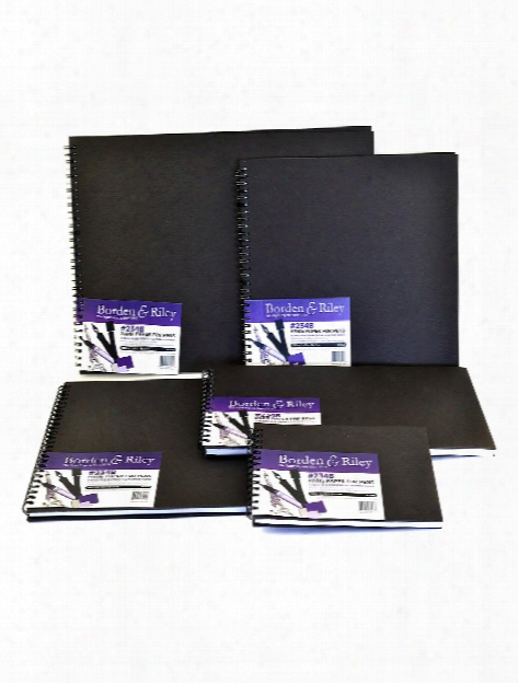 234 Paris Paper For Pens Hard Cover Sketch Book 5 In. X 7 In. 40 Sheets