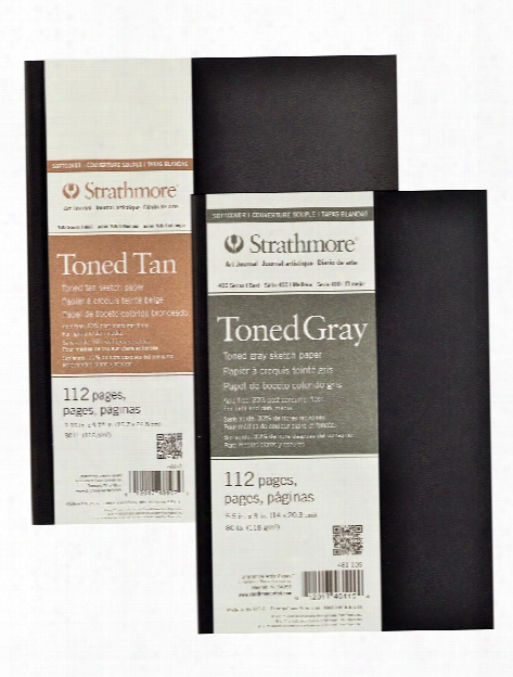 400 Series Toned Sketch Softcover Pad Tan 5.5 In. X 8 In. 56 Sheets