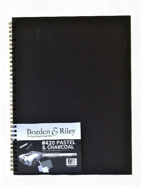420 Charcoal Pastel Sketch Book 6 In. X 9 In. 40 Sheets