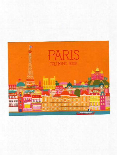 Adult Coloring Books Paris