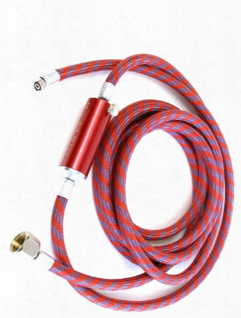 Air Hose With Moisture Trap 8 Ft. X 1 8 In.