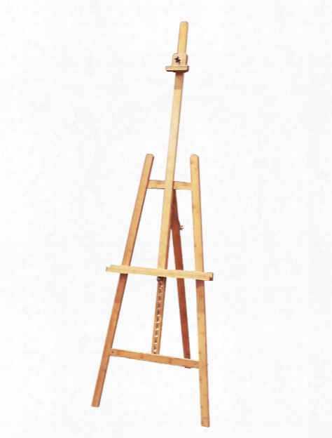 Angleina Solid Bamboo Easel Traditional Lyre Style