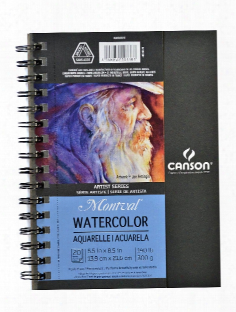 Artist Series Watercolor Book 5.5 In. X 8.5 In. 20 Sheets
