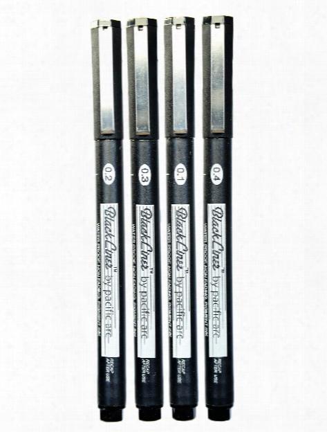 Blackliner Fine Line Drawing Pens 0.05 Mm