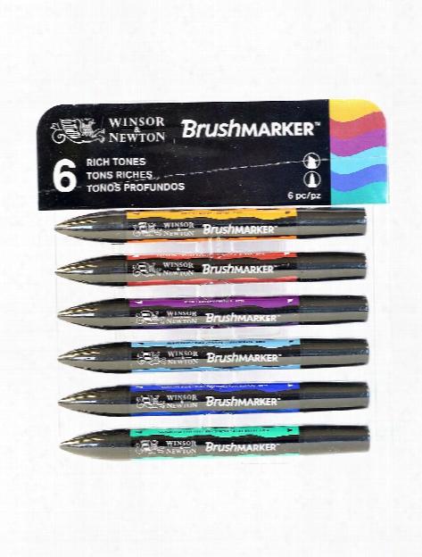 Brushmarker Sets Rich Tones Set Of 6