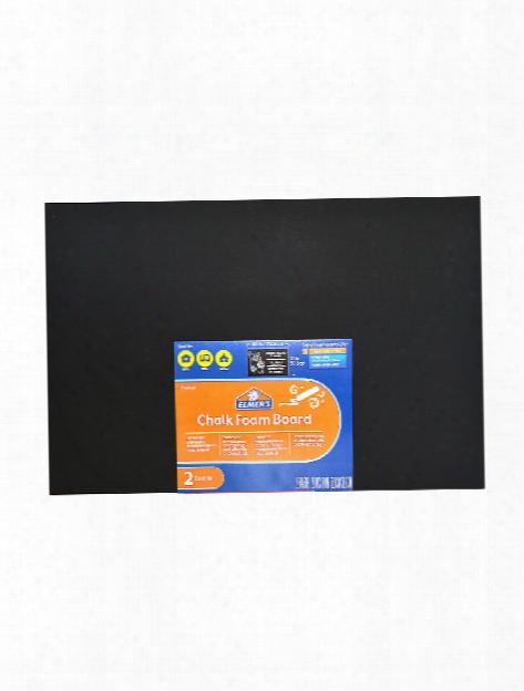 Chalk Foam Board 20 In. X 30 In. 3 16 In. Pack Of 2