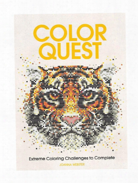 Color Quest Adult Coloring Book Animals