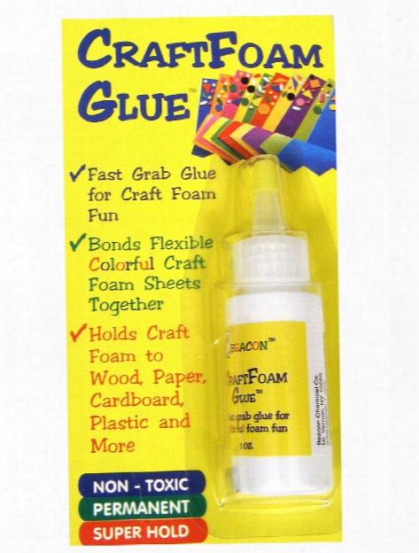 Craft Foam Glue 1 Oz.