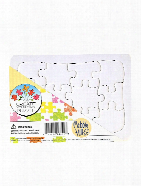Create Your Own Puzzle 10 In. X 14 In. 20 Pieces