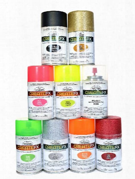 Createfx Specialty Sprays 3 Oz. Fluorescent Orange