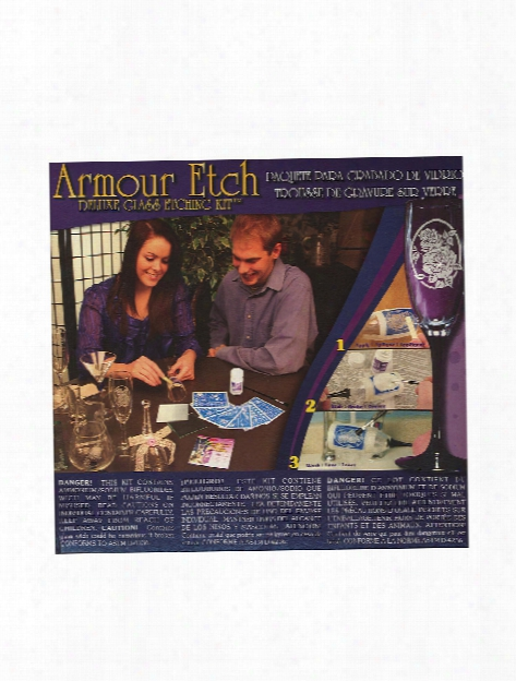 Deluxe Glass Etching Kit Glass Etching Kit