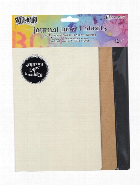 Dylusions Creative Journal Insert Pages Large Pack Of 13