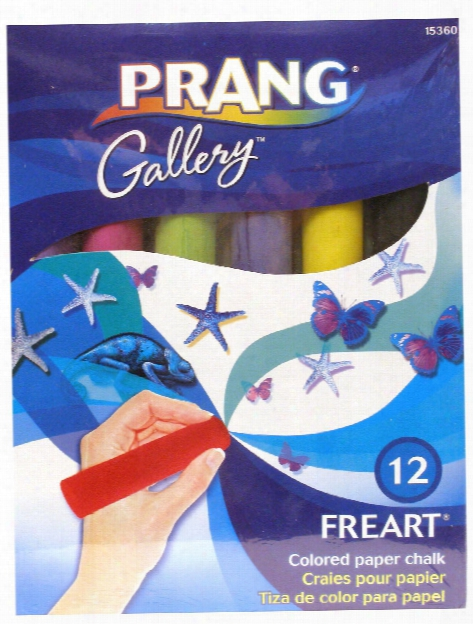Freart Colored Chalk Set Box Of 12