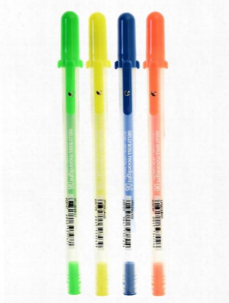 Gelly Roll Moonlight Pens 06 Fine Fluorescent Yellow