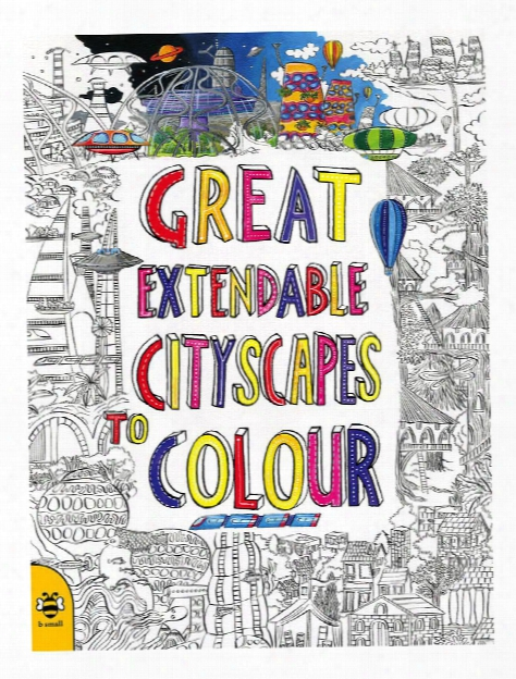 Great Extendable Cityscapes To Colour Each