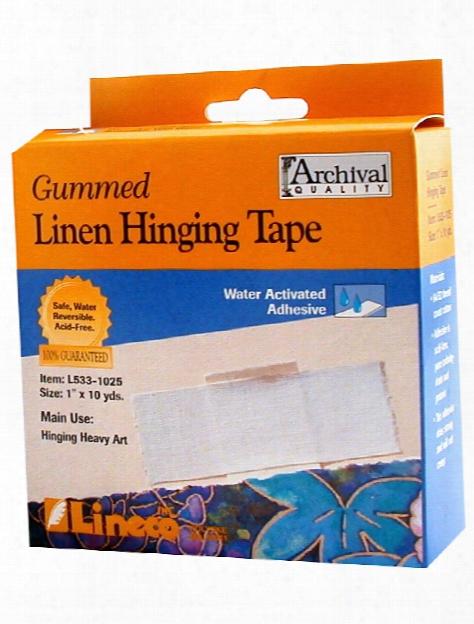 Gummed Linen Tape 1 In. X 30 Ft.