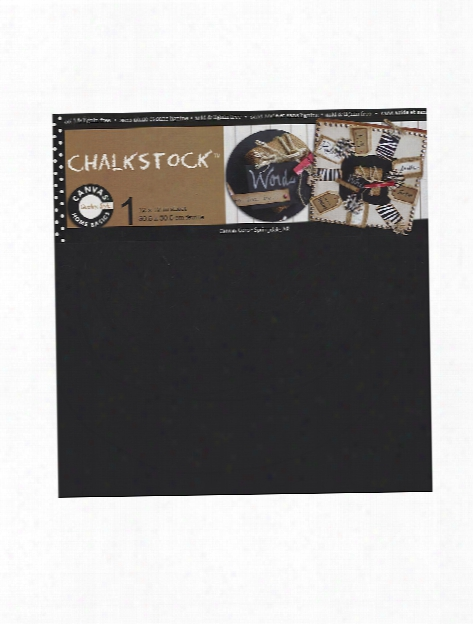 Home Basics Chalkstock 12 In. X 12 In. Sheet