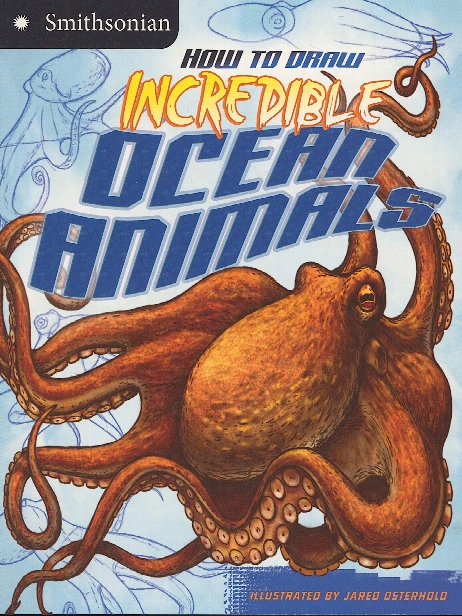 How To Draw Series Incredible Ocean Animals