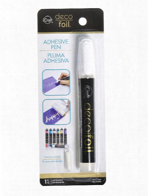 Icraft Deco Foil Adhesive Pens Each