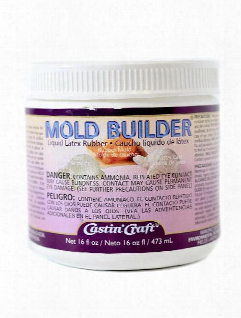Mold Builder Liquid Rubber 16 Oz.