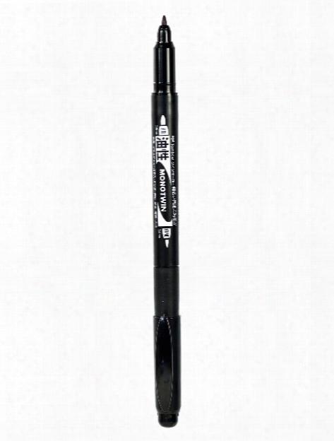Mono Twin Permanent Marker Black