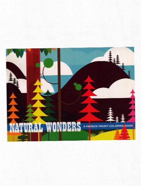 Natural Wonders Coloring Book Each