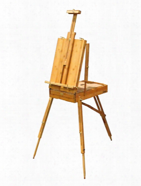 Nueces Solid Bamboo Easel French Box Easel Style