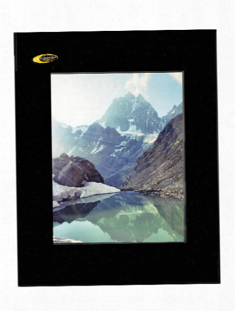 Photography Frames Matte Black 11 In. X 14 In. White Double Mat 8 1 2 In. X 11 In. Opening