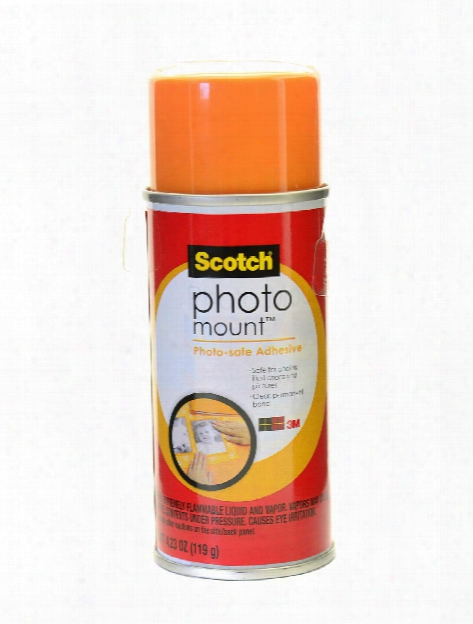 Photomount Spray Adhesive 4.23 Oz. Can
