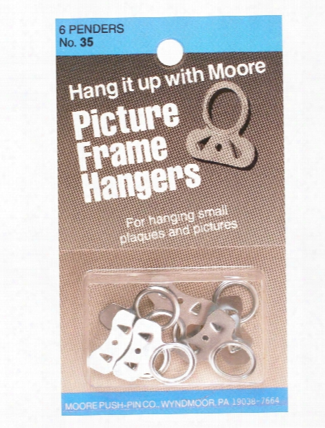 Picture Frame Hangers Pack Of 6