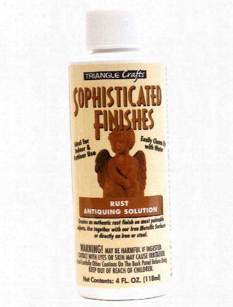 Sophisticated Finishes Antiquing Solutions Instant Rust 4 Oz.