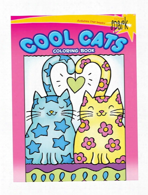 Spark Coloring Books Cool Cats