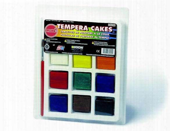 Tempera Cake Set Tempera Set